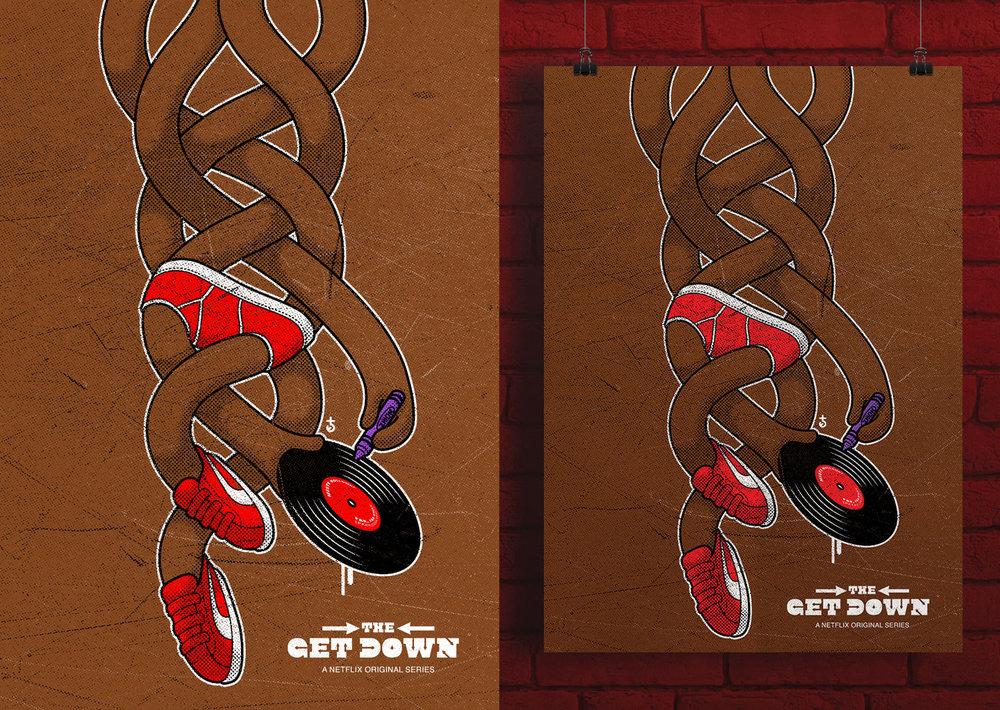 Fan art for Netflix series The Get Down