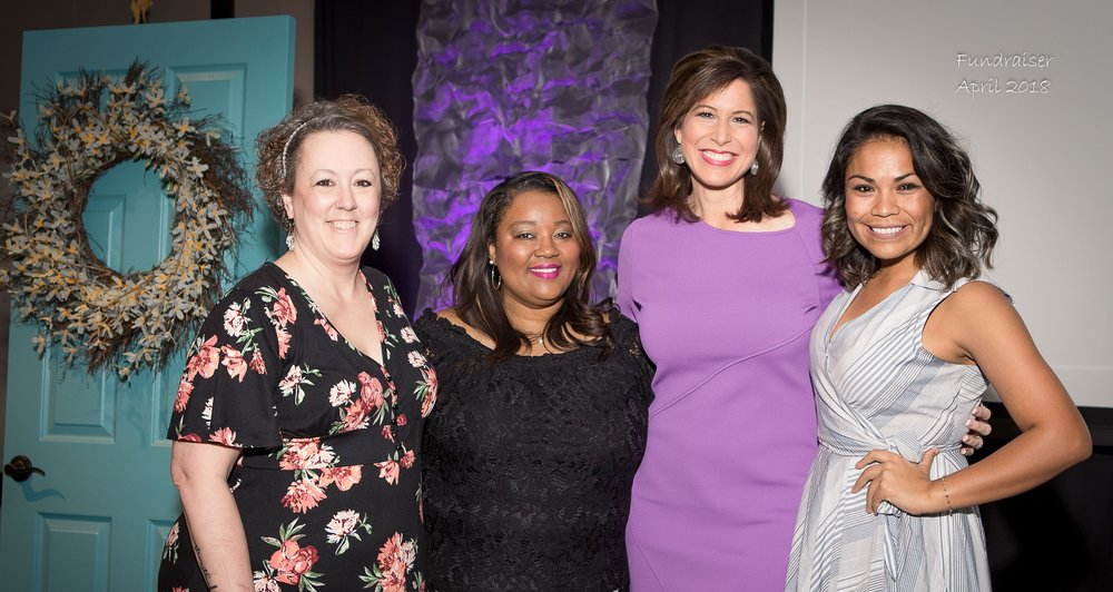 These current and former students from Begin Anew, pictured with Channel 4 News anchor, Holly Thompson,  have discovered the keys to unlocking their potential.