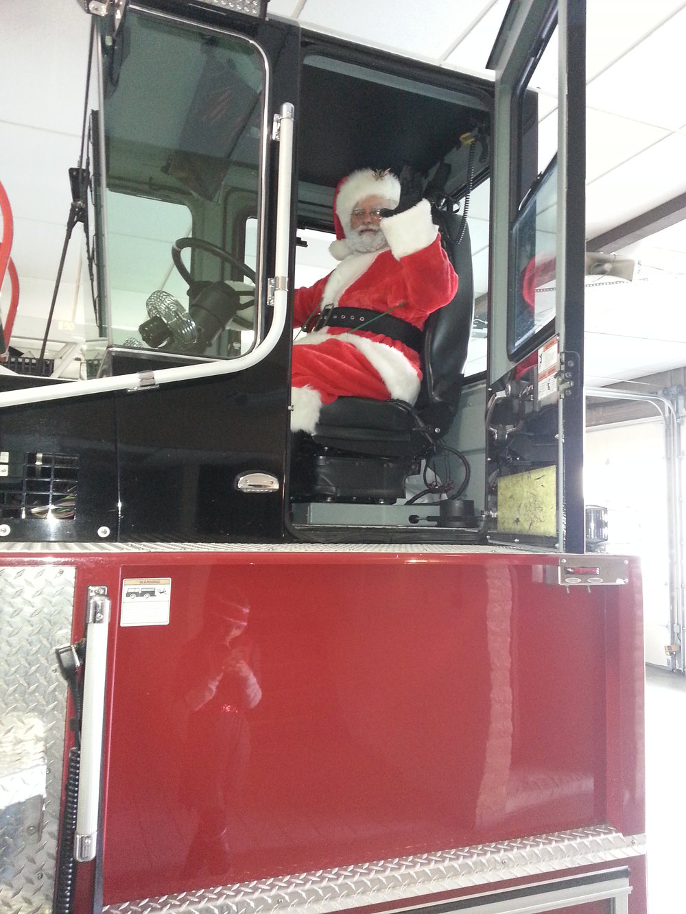 Santa in the Tiller.jpg