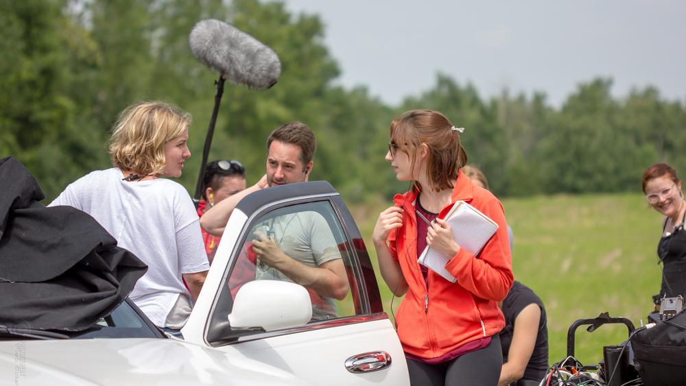 producer on set!