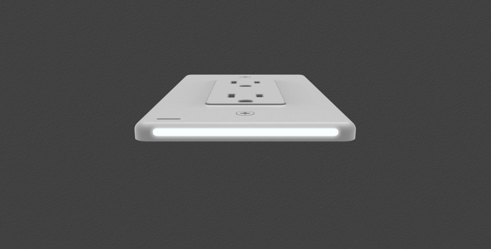 Snap wall outlets