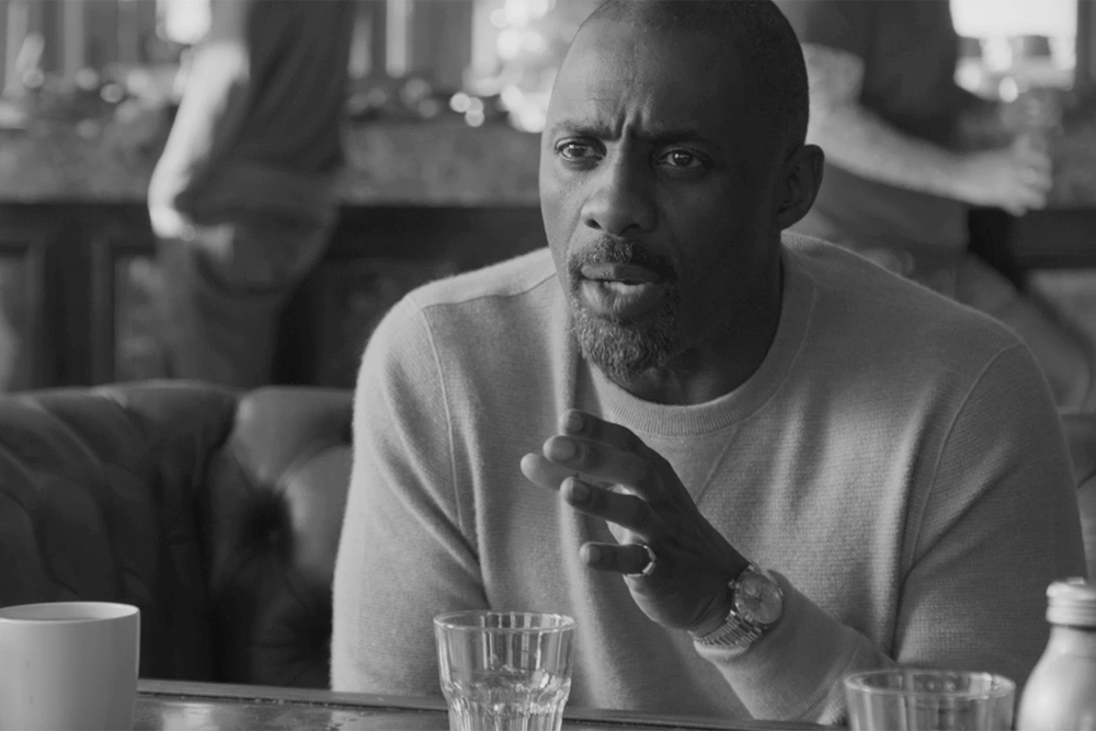"Purdey's engaged actor Idris Elba in a campaign called ""Thrive On"" which helps people pursue their ambitions."