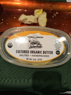 Kimball Brook Farm Cultured Organic Butter
