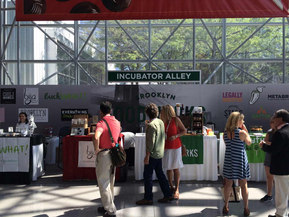 Incubator Alley at the 2016 Summer Fancy Food Show features specialty food companies just emerging into the market.