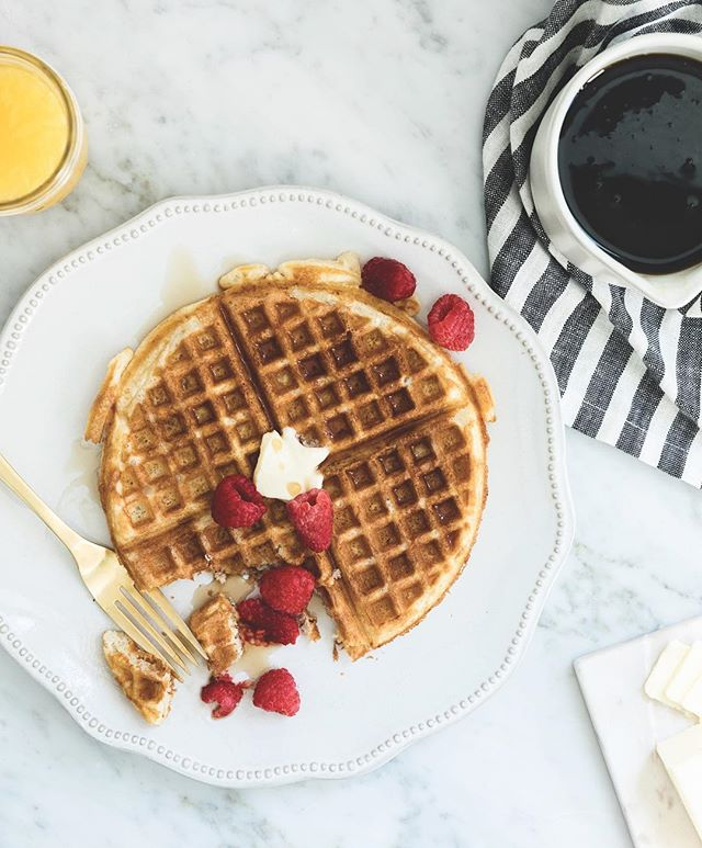 If you want to basically eat butter, the waffles from the @shereadstruth Advent book will make you very happy! Who plans to make these tomorrow? (Recipe exclusive to the book, always buy the books! 😂) Merry Christmas Eve! #merrychristmaseve #waffles #thekitchn #thefeedfeed #yum #bonappetit #brunch #christmas #breakfast #butfirstcoffee #onmytable #shereadstruth #advent #cookbook