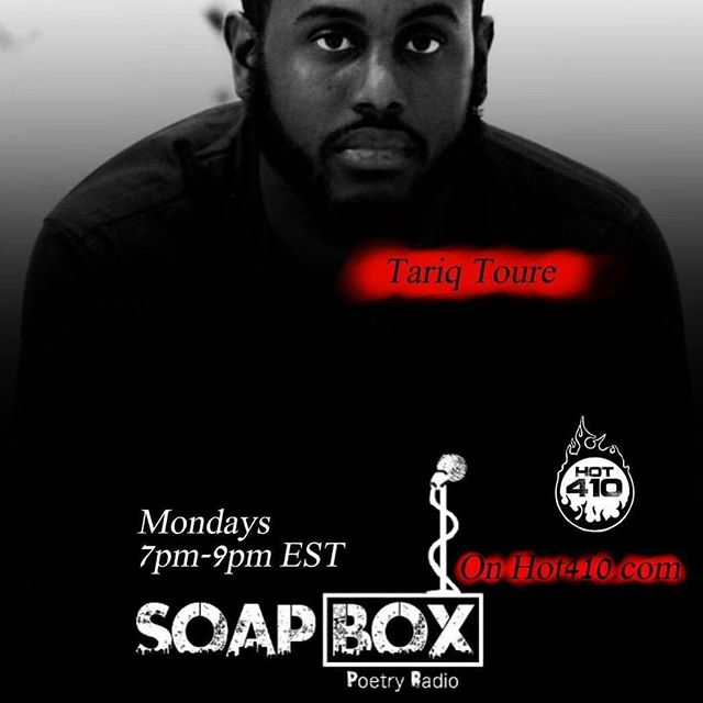 I'm humbled to be getting interviewed by @cozi.ty, @losg1 and @meccamorphosis tonight on @soapboxpoetryradio. Please support these young moguls pushing the culture forward along with so many others across the nation. 🙏🏿 #BeTheLight