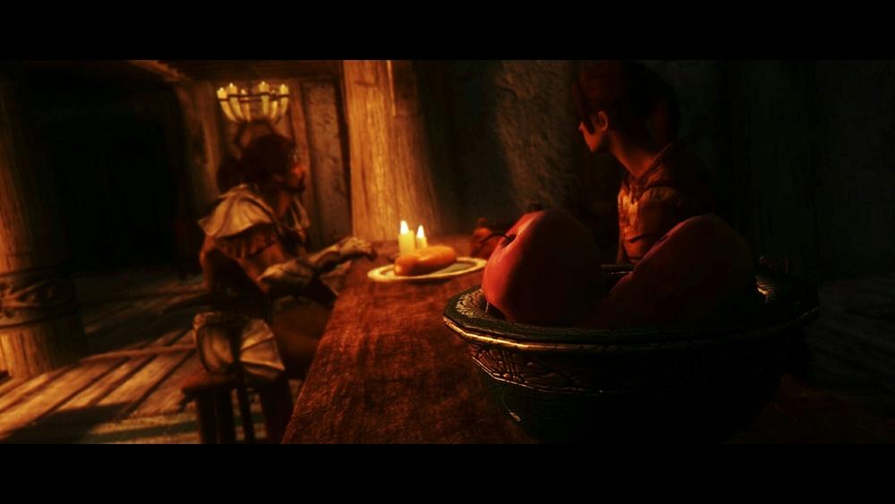 """The Bee and Barb: Cinematic Screenshot"", 2016. Taken in Bethesda's  The Elder Scrolls V: Skyrim"