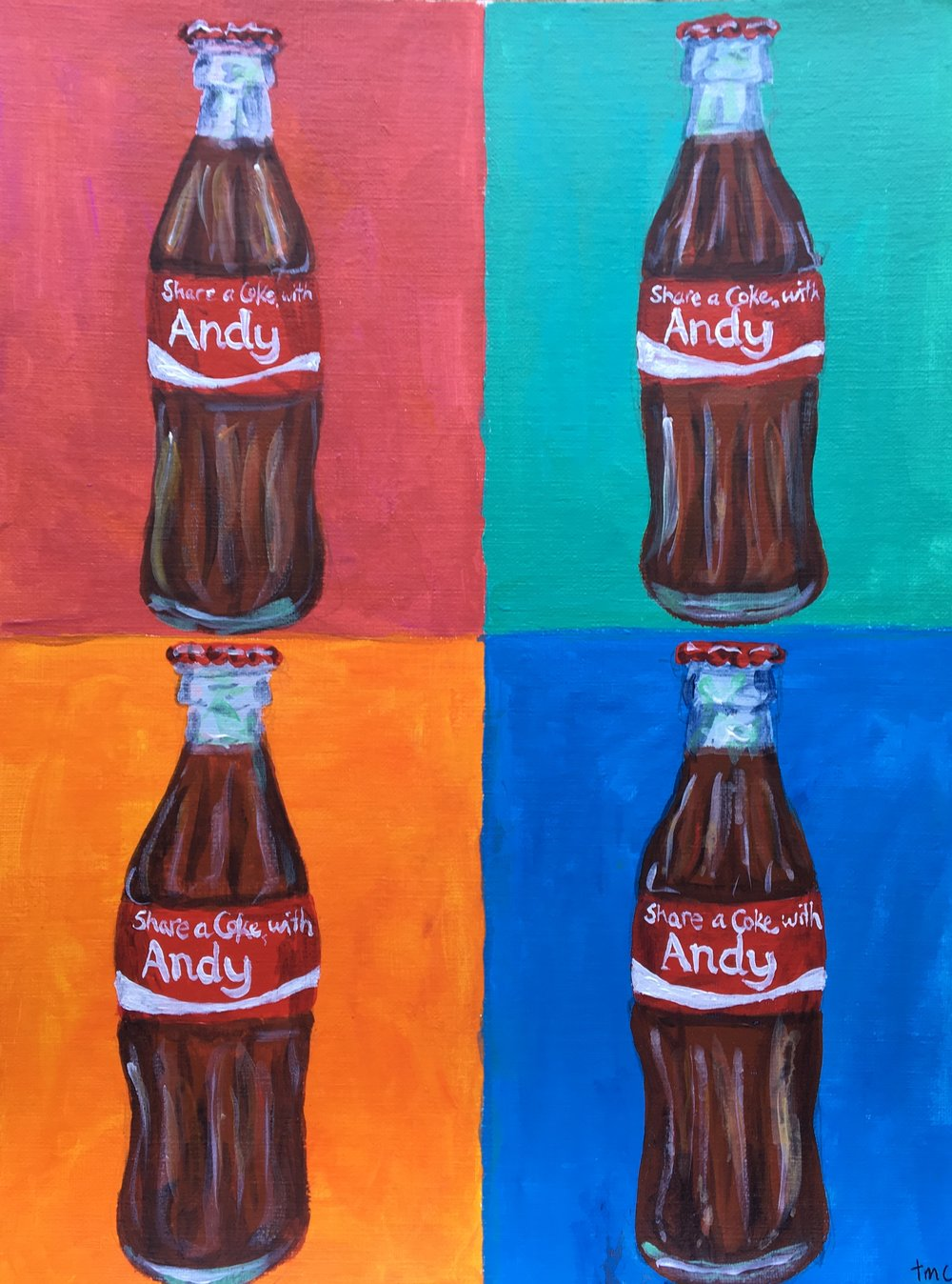 4 Cokes, Andy Warhol