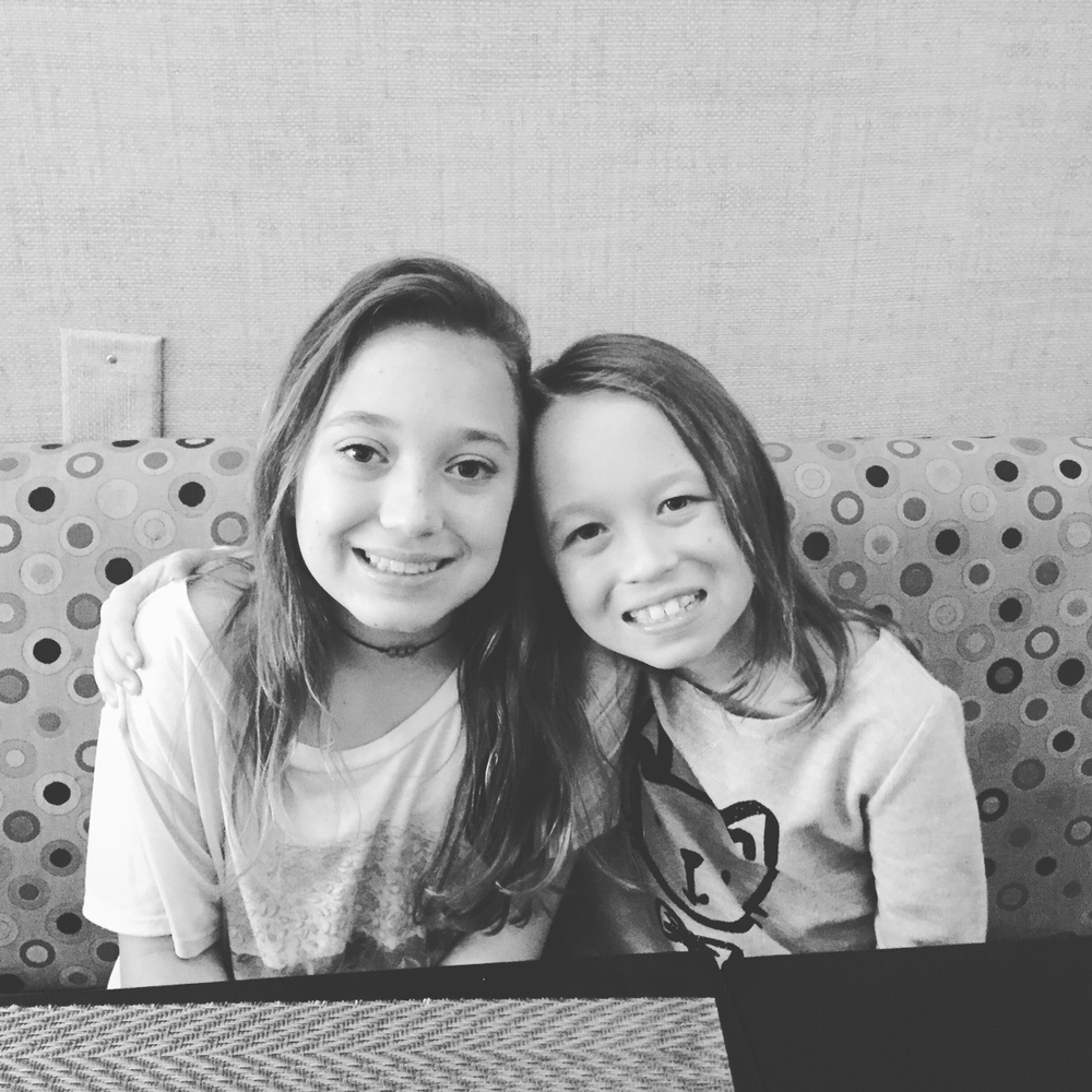 Granddaughters MaryCannon & Frances