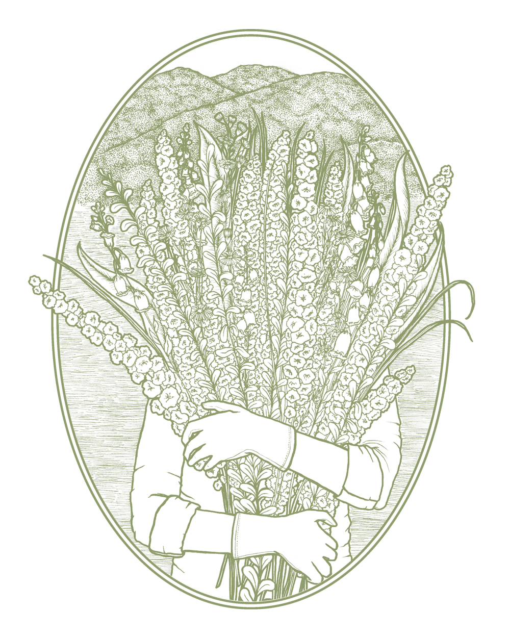 Garden & Gather Illustration