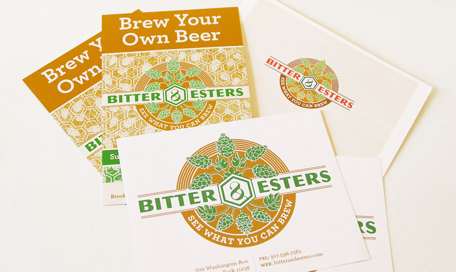 Bitter & Esters, Print Collateral