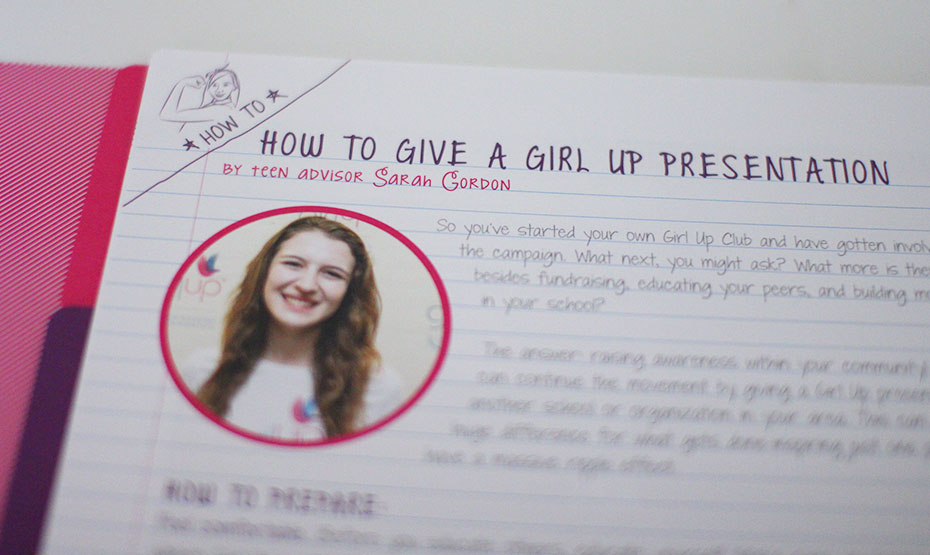 Girl Up Leader Book