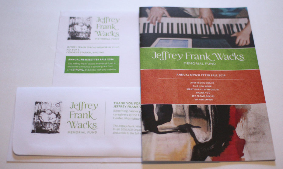 Jeffrey Frank Wacks Memorial Fund Print Collateral