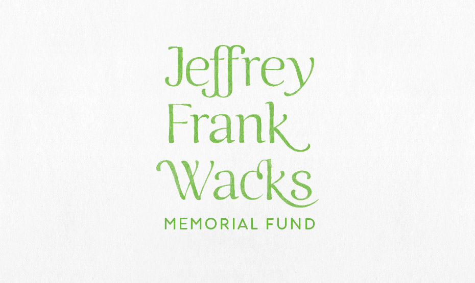 Jeffrey Frank Wacks Memorial Fund Identity