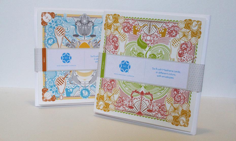 Kli Rosh Hashanah Cards