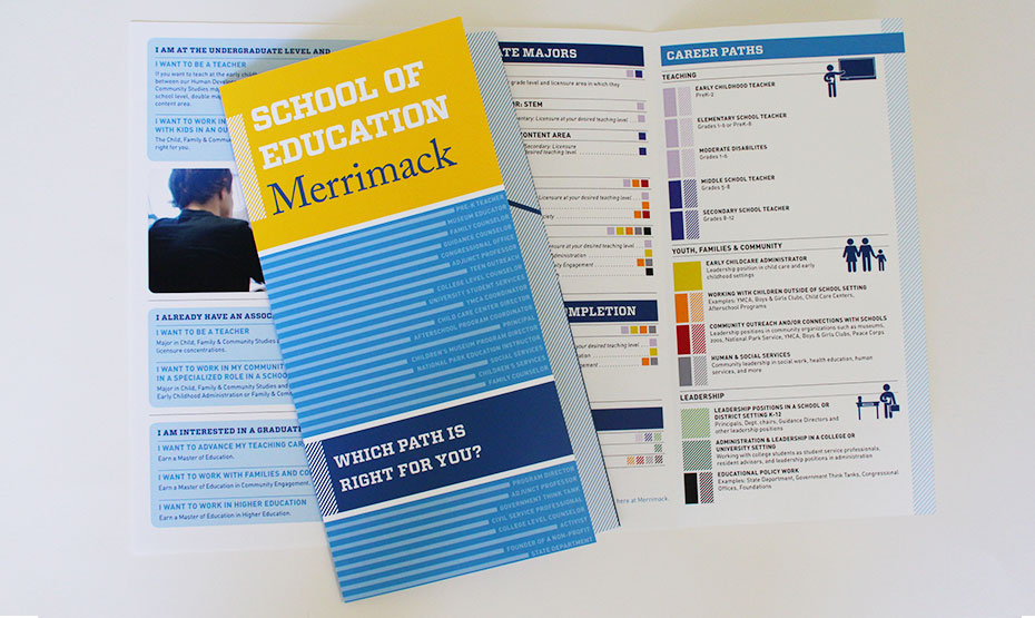 Merrimack College School of Education Brochure