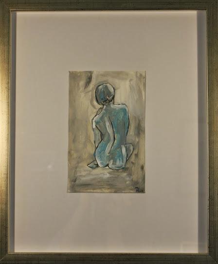 """""""Nude CIII"""" - $250 - 14"""" x 17"""""""