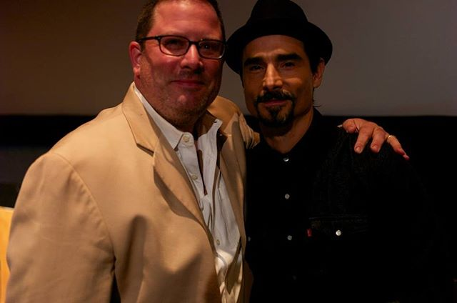 #TBT Director Robert E. Clyde and Kevin Richardson at the opening of the film.