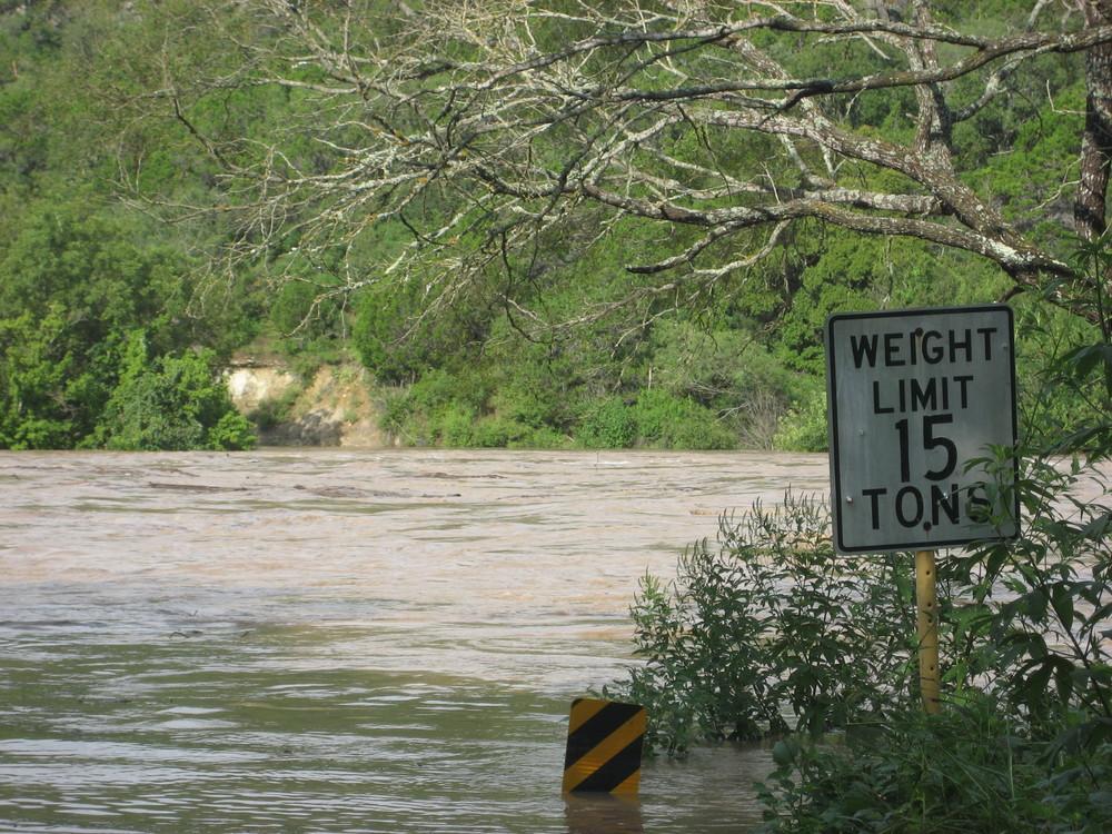 Flooding Pedernales