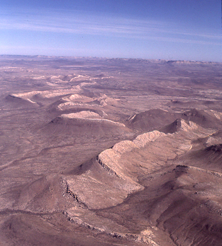 Marathon fold-thrust belt, West Texas
