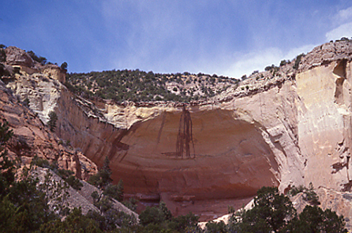 Echo Amphitheater near Abiquiu, NM.