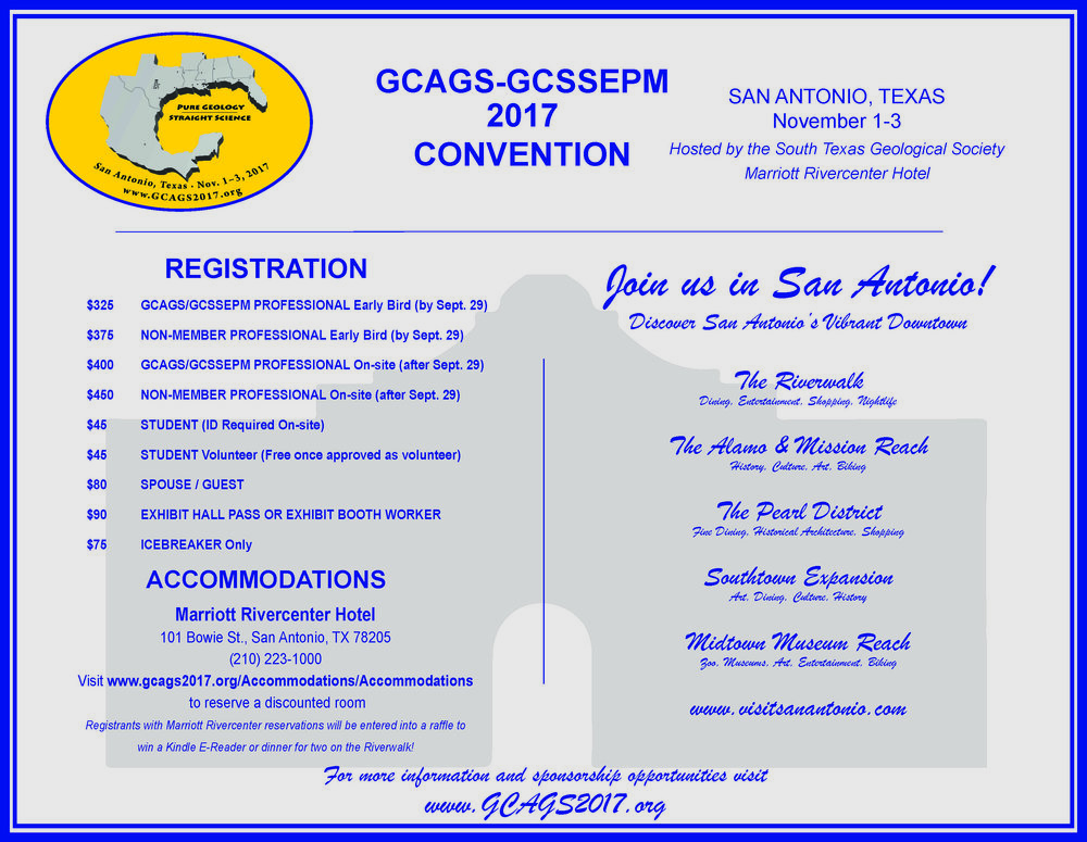 Calendar austin geological society gulf coast association of geological societies convention fandeluxe Gallery