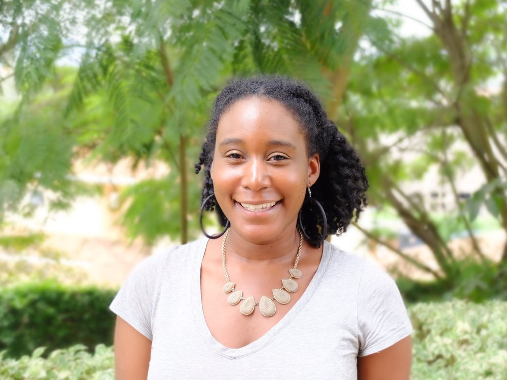 """Niesha, STOMP Support Team Lead - """"I'm inspired to do malaria prevention work because people in my community are eager to learn how to prevent it; and I'm eager to help eliminate a disease."""""""
