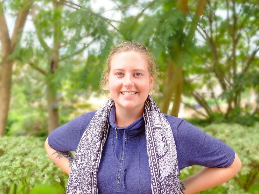 """Maggie, Events and Training Team - """"I'm inspired to do malaria work because it is a serious issue for people in my own community. And also, as we know, education and public health work go hand in hand. As a teacher, I get to bring malaria work to the classroom!"""""""