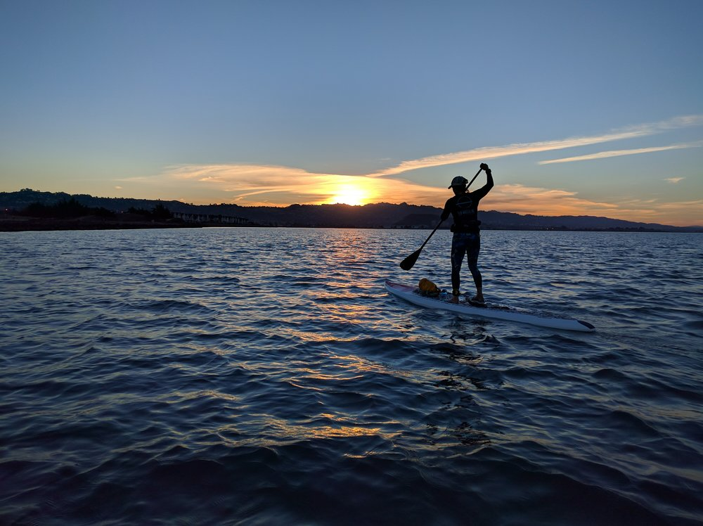 Sunset SUP