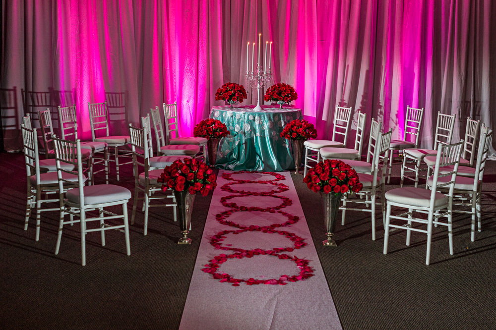 White Chiavari Chairs with White Signature cushions