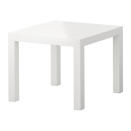 White Endtable