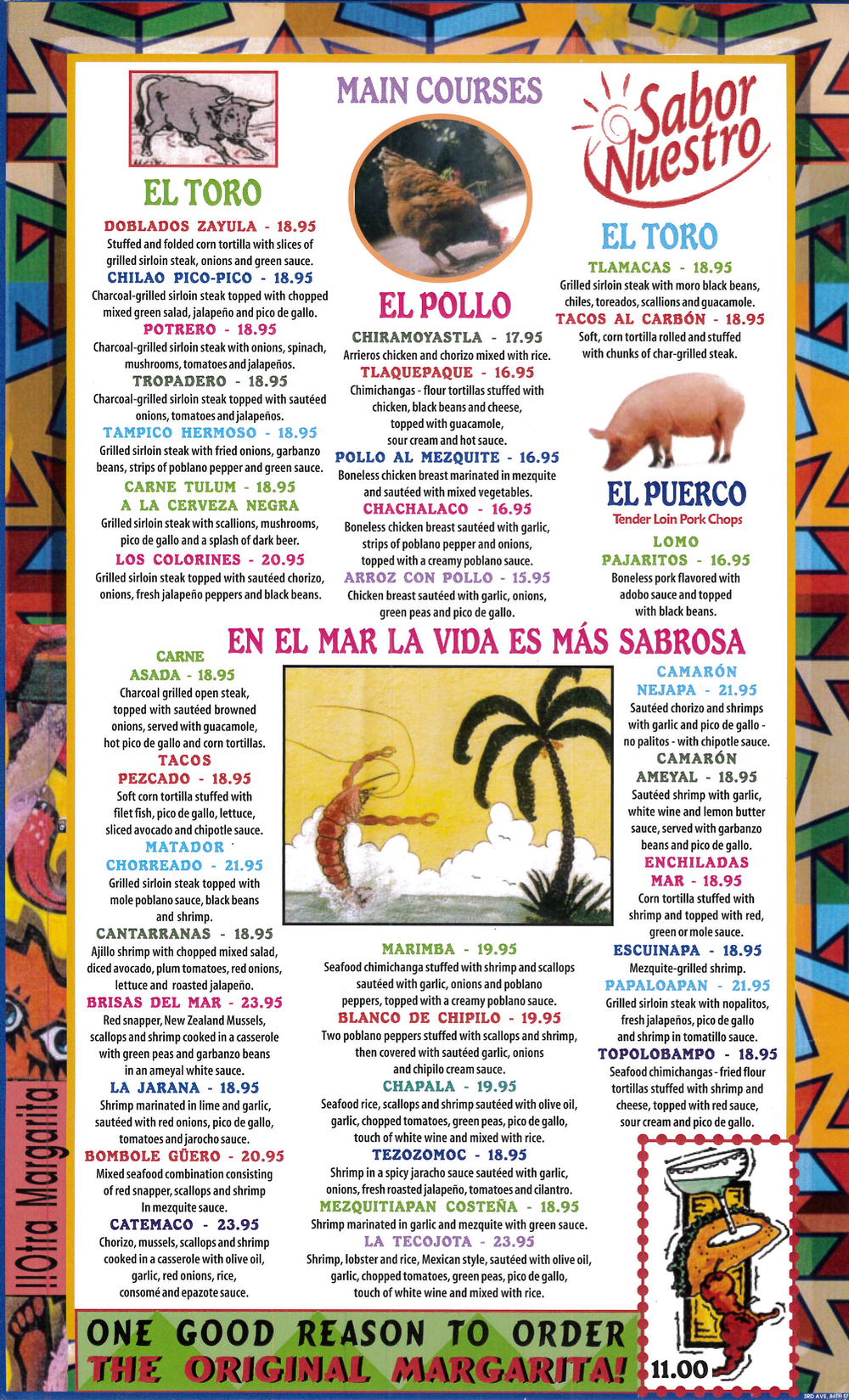 Mezcals Menu Brooklyn