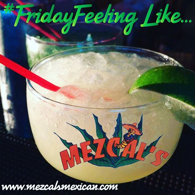 #FridayFeeling like you need a #margarita? We have happy hour until 7pm, and dinner is served until 11pm.