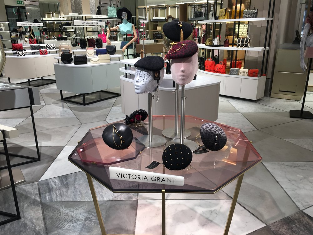 A curated selection of Signature VG 'Kiss' berets are now available at Harvey Nichols. Set in the newly refurbished Luxury Accessories Department on the ground floor, Knightsbridge.   www.harveynichols.com