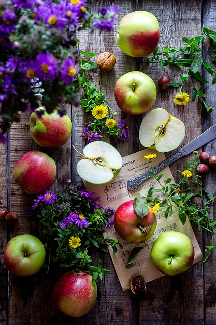 Apples - are on the Dirty Dozen list as a fruit that, if you can afford it, should be bought organic.If you can't purchase organic, just wash them really well before using.For more information about this, see the EWG resource below.