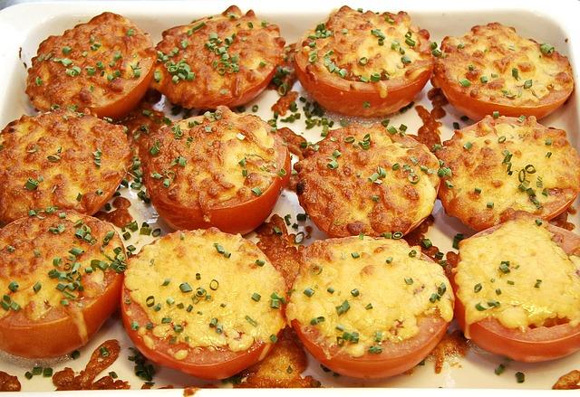 Gratin Tomatoes