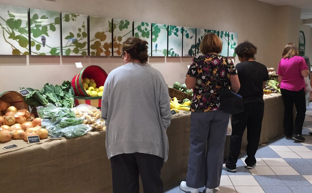 Indoor Farmers Market - Central DuPage Hospital, Winfield, IL