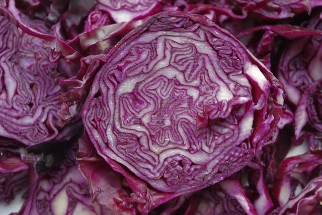 Purple Power - Studies have shown that as the amount of red cabbage you eat increases, the higher the antioxidant levels in your blood becomes.This is great news because it means that your cardiovascular system benefits from lower rates of inflammation caused by oxidation and improved total and LDL cholesterol levels.