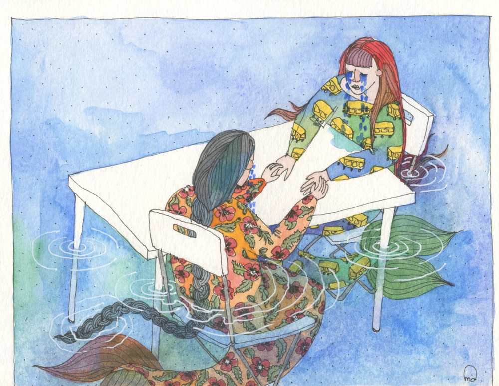 Mermaids of New York City fill their ponds with tears of their own drama.