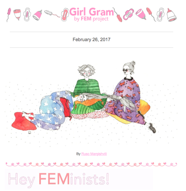 FEM Project's Newsletter