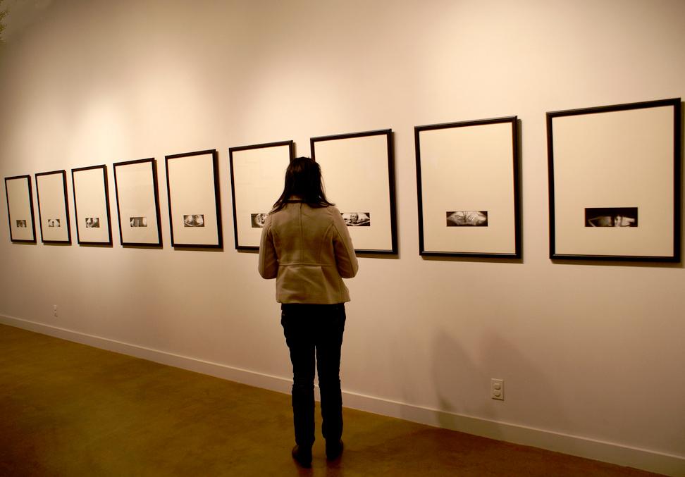 Ann Hamilton's pinhole camera series