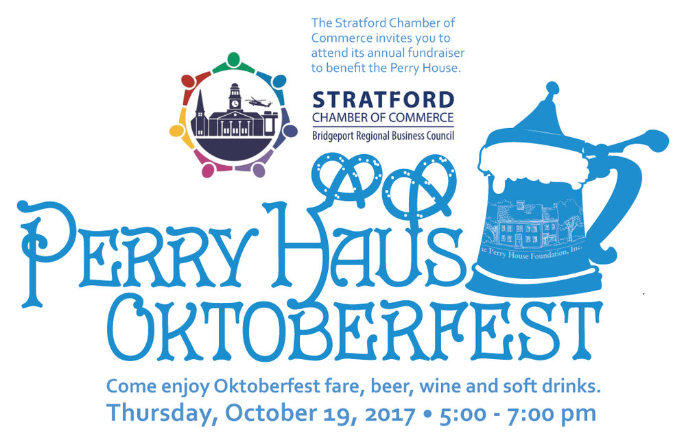 The Stratford Chamber of Commerce invites you to attend its annual fundraising event to benefit the Perry House Foundation. Click on the image above for more information and to register for the event.