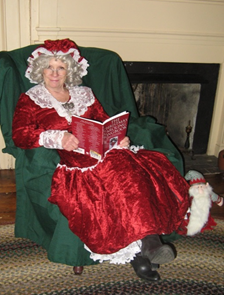 """Visit with Mrs. Claus"" Sunday, December 4, 2016 11:30 a.m. – 2:30 p.m."