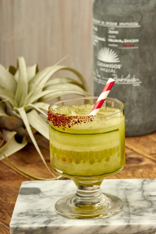 Cucumber Mezcal Margarita