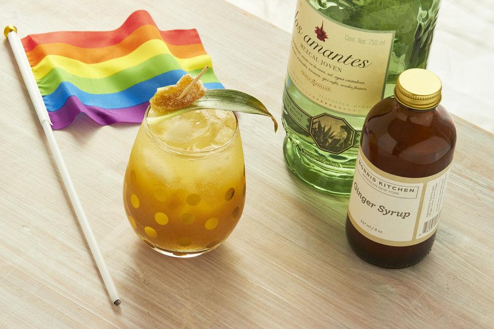Pride Pineapple Mule Cocktail