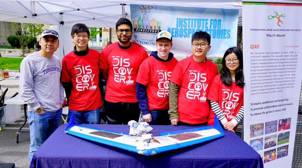 Our exhibit and volunteers from last's year Science Rendezvous!