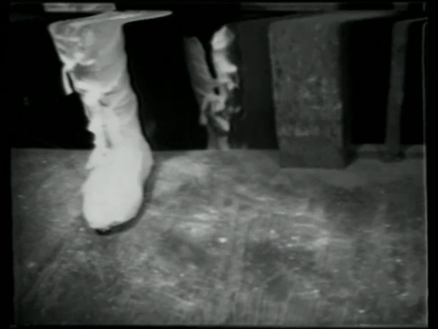 A Video Still from Fragments of a Self Portrail #1, 1972, by Andrea Callard
