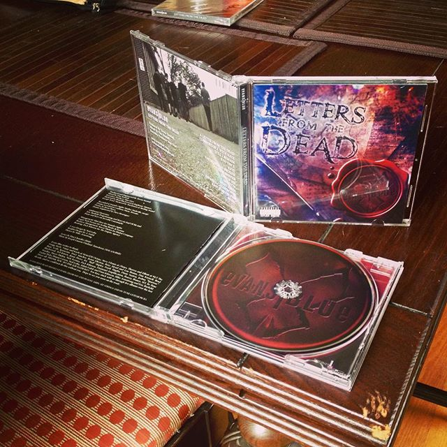 For those who have been asking...YES we will have a physical CD of the new album Letters From The Dead! It will be available in our merch store on 4/15 and at the TX shows this weekend! #EBnation #EBLFTD415
