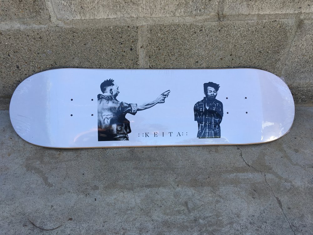 "look for Marc Espinoza ripping the ""killer"" art by Omar Solorio deck now available 8.125"" >< 8.25"" >< 8.5"" available at Asylum Skate Shop Oceanside California"