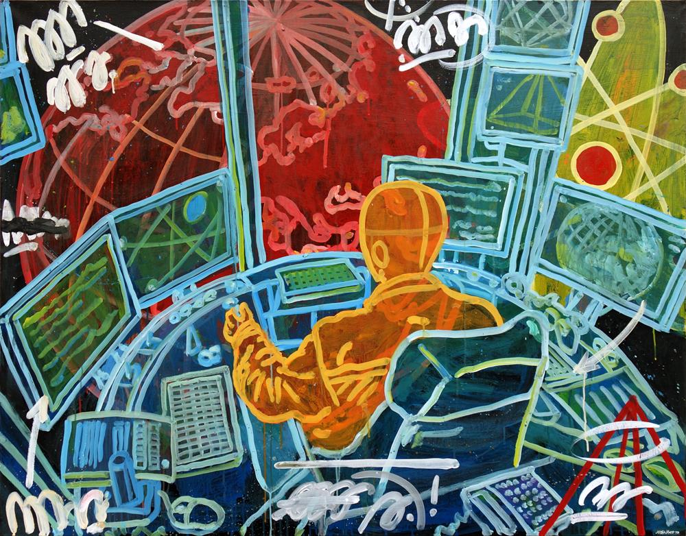 control. 140x110sm canvas '17